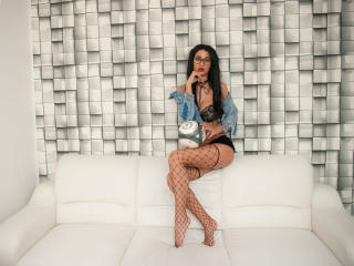 Photo de profil sexy du modèle AlexxxiaTS, pour un live show webcam très hot !