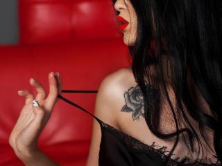 Velmi sexy fotografie sexy profilu modelky AnabelBlack pro live show s webovou kamerou!