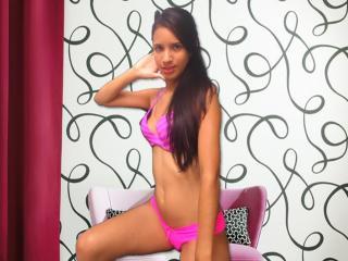 Velmi sexy fotografie sexy profilu modelky AnaisChaude pro live show s webovou kamerou!