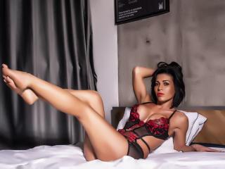 Velmi sexy fotografie sexy profilu modelky ArieleHoe pro live show s webovou kamerou!