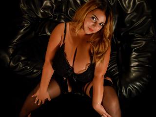 Foto de perfil sexi, da modelo BustyKendra, para um live show webcam muito quente!