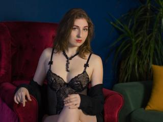 Photo de profil sexy du modèle ChristinaRose, pour un live show webcam très hot !