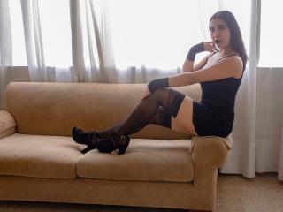 Foto de perfil sexy de la modelo ElizaHornyFull, ¡disfruta de un show webcam muy caliente!