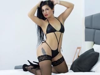 Velmi sexy fotografie sexy profilu modelky EllenKendrick pro live show s webovou kamerou!