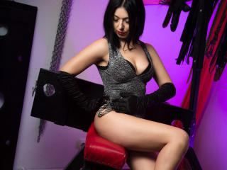 Picture of the sexy profile of EmpressNoir, for a very hot webcam live show !