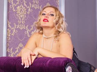 Velmi sexy fotografie sexy profilu modelky FuckFesseGodeFontain pro live show s webovou kamerou!