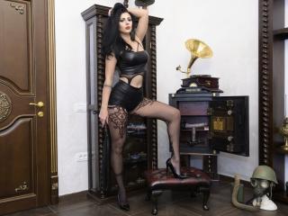 Velmi sexy fotografie sexy profilu modelky GyaDomme pro live show s webovou kamerou!