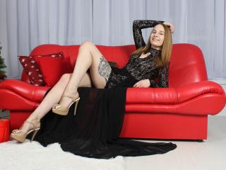 Velmi sexy fotografie sexy profilu modelky HotSweetBB pro live show s webovou kamerou!