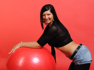 Sexet profilfoto af model HottKelly, til meget hot live show webcam!