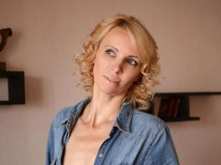 Velmi sexy fotografie sexy profilu modelky Inavate pro live show s webovou kamerou!