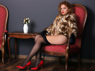 Picture of the sexy profile of LadyAliah, for a very hot webcam live show !