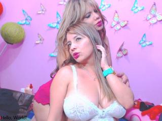 Picture of the sexy profile of LatinBlondes, for a very hot webcam live show !