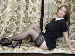 Velmi sexy fotografie sexy profilu modelky LisaDesire pro live show s webovou kamerou!