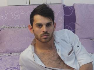 Picture of the sexy profile of LoverrBoy, for a very hot webcam live show !