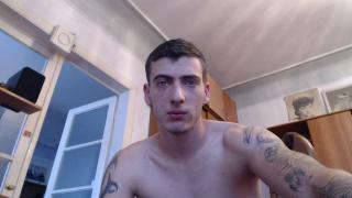 Picture of the sexy profile of OneHotBoy, for a very hot webcam live show !