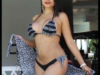 Sexet profilfoto af model SamantaDark, til meget hot live show webcam!