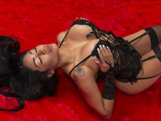 Sexet profilfoto af model SandraSein, til meget hot live show webcam!