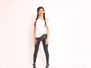 Velmi sexy fotografie sexy profilu modelky SensualAry pro live show s webovou kamerou!