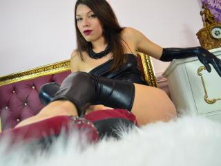 Velmi sexy fotografie sexy profilu modelky SquirtQueenAlexa pro live show s webovou kamerou!