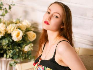 Photo de profil sexy du modèle SuzySilk, pour un live show webcam très hot !