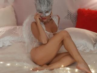 Velmi sexy fotografie sexy profilu modelky SweetAriell pro live show s webovou kamerou!