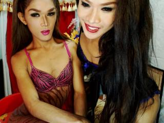 Velmi sexy fotografie sexy profilu modelky TheGiftedDuo pro live show s webovou kamerou!