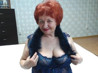 Velmi sexy fotografie sexy profilu modelky vabank pro live show s webovou kamerou!