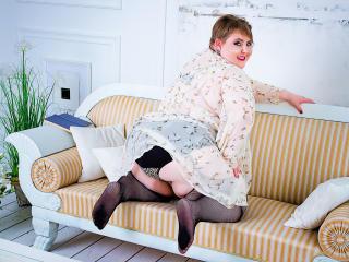 Velmi sexy fotografie sexy profilu modelky WBoutBBW pro live show s webovou kamerou!