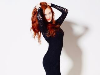 Velmi sexy fotografie sexy profilu modelky YummyRED pro live show s webovou kamerou!
