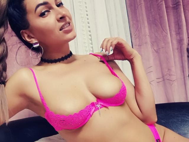 Picture of the sexy profile of AngeOuDemonXO, for a very hot webcam live show !
