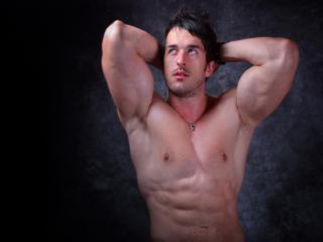 Picture of the sexy profile of DavidMuscle, for a very hot webcam live show !