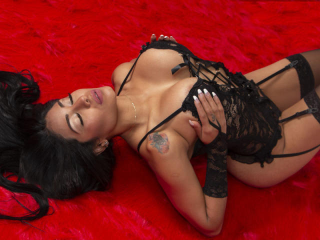 Photo de profil sexy du modèle SandraSein, pour un live show webcam très hot !