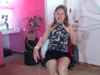 LadyLucky - Show hard with a chocolate like hair Sexy lady