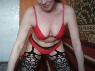 RositaSky - Web cam hot with this average constitution MILF
