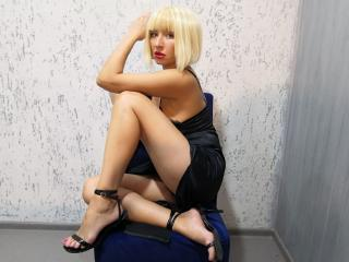 Picture of the sexy profile of ViktoriaVika, for a very hot webcam live show !