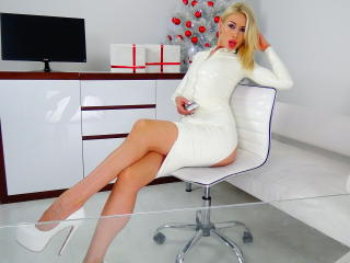 Sexet profilfoto af model LouisaCream, til meget hot live show webcam!