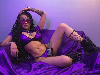 Photo de profil sexy du modèle MollyWax, pour un live show webcam très hot !