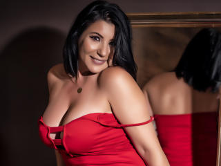 BigClitMILF - Webcam live exciting with a brunet Nude mother