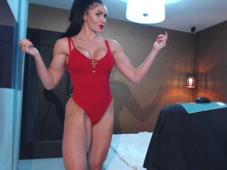 Picture of the sexy profile of JasminFitness, for a very hot webcam live show !