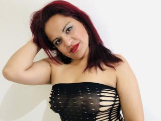Photo de profil sexy du modèle SharonLoves, pour un live show webcam très hot !