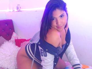 LolittaX - Live cam x with a black hair Horny lady