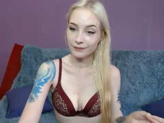 Picture of the sexy profile of MissSallyOn, for a very hot webcam live show !