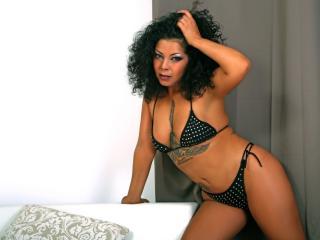 Photo de profil sexy du modèle LeenaMistress, pour un live show webcam très hot !