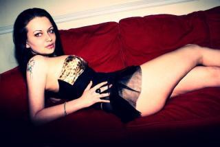 Photo de profil sexy du modèle KinkyPersephone, pour un live show webcam très hot !