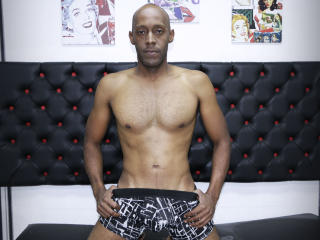 Picture of the sexy profile of BlackMonsterXXL, for a very hot webcam live show !