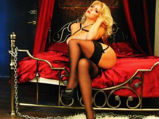 Photo de profil sexy du modèle Meriline, pour un live show webcam très hot !
