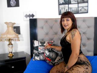 Photo de profil sexy du modèle JennaCrystal, pour un live show webcam très hot !