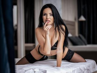 Sexet profilfoto af model BelleJojo, til meget hot live show webcam!
