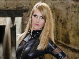 Foto de perfil sexy da modelo ViktoriaDomme, para um live show muito quente!
