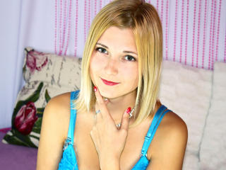 Photo de profil sexy du modèle Sunflare, pour un live show webcam très hot !